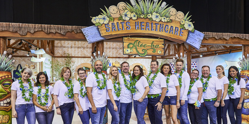 Say Aloe-ha to Salts Healthcare's 'Best Stand Ever'